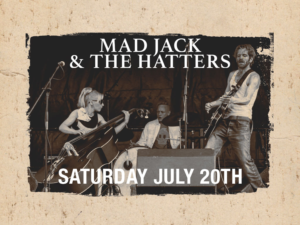 mad jack and the hatters live at whittles oldham event image