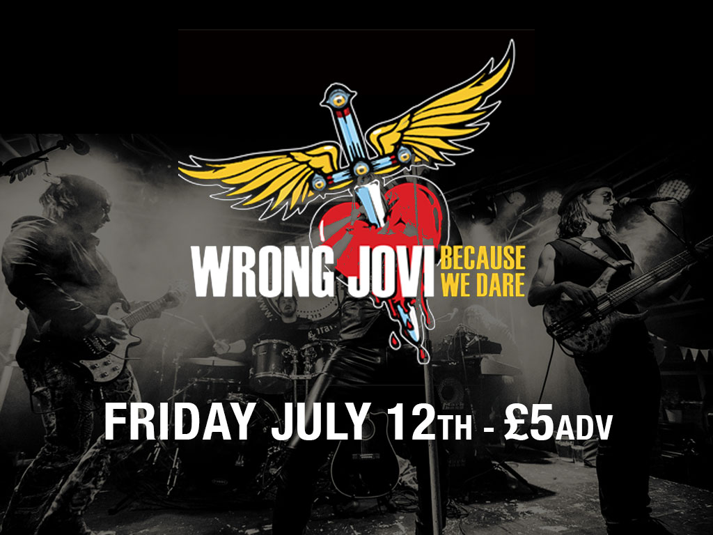 Wrong Jovi live at whittles oldham event image