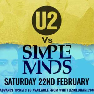 U2 SIMPLE MINDS TRIBUTE OLDHAM