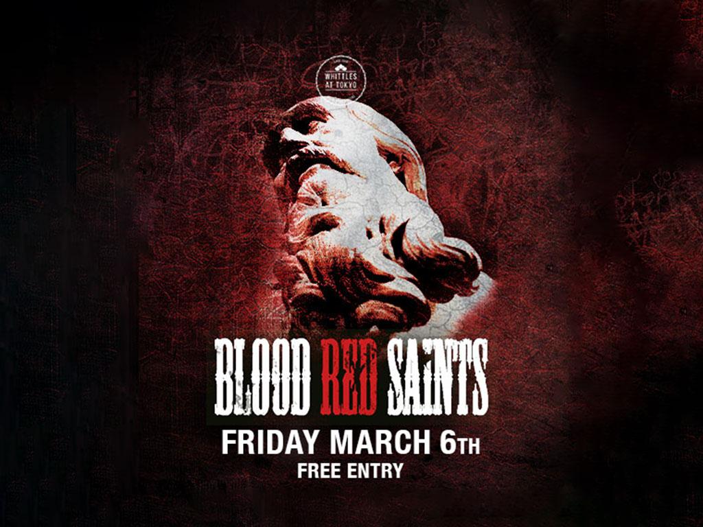 blood red saints live